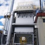 都市ゴミの排ガス処理設備